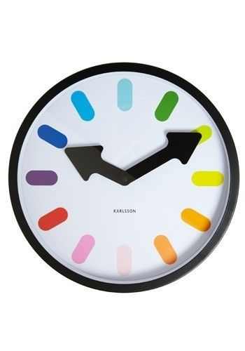 Present Time Karlsson Eclipse Wall Clock
