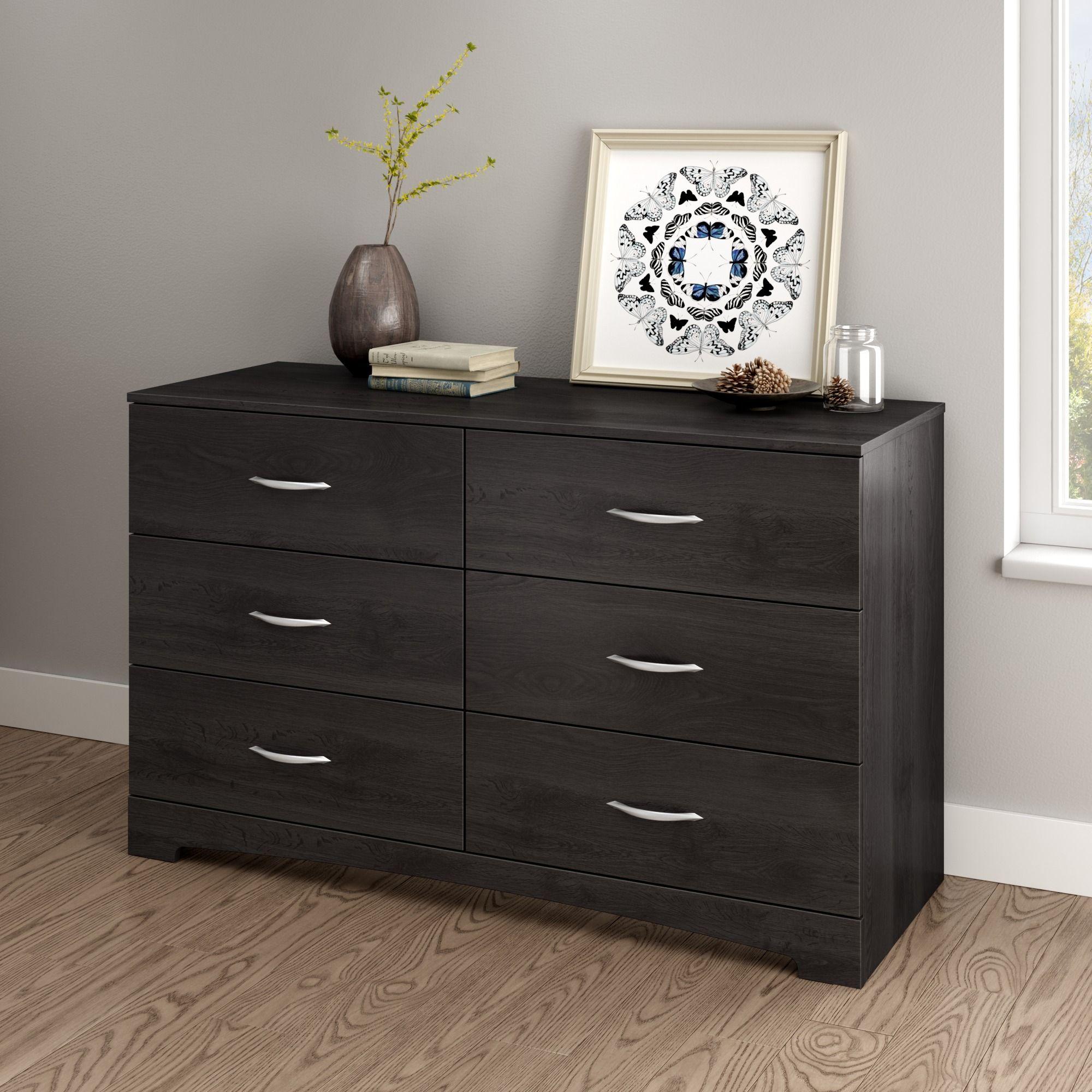 South Shore Soho 6 Drawer Double Dresser Multiple Finishes Walmart Com Furniture Grey Bedroom Furniture Oak Dresser [ 2000 x 2000 Pixel ]