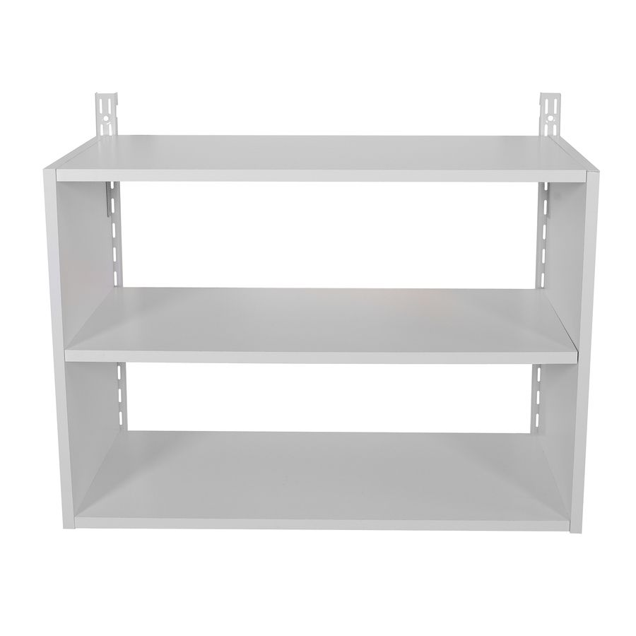 Rubbermaid HomeFree White Wood 3-Shelf Unit | Planned Home ...
