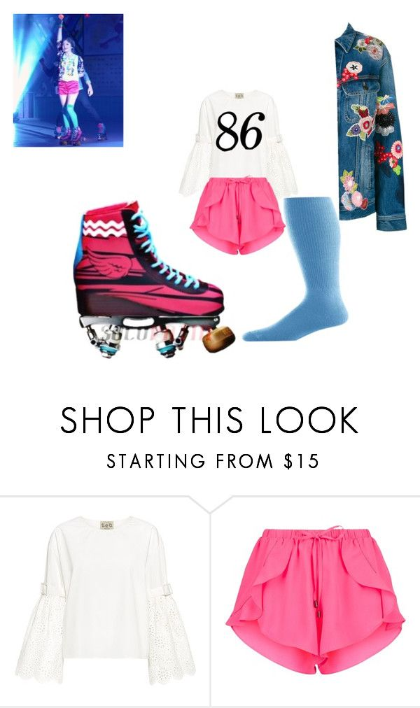 """""""Soy Luna"""" by julia-clv ❤ liked on Polyvore featuring Sea, New York and Yves Saint Laurent"""