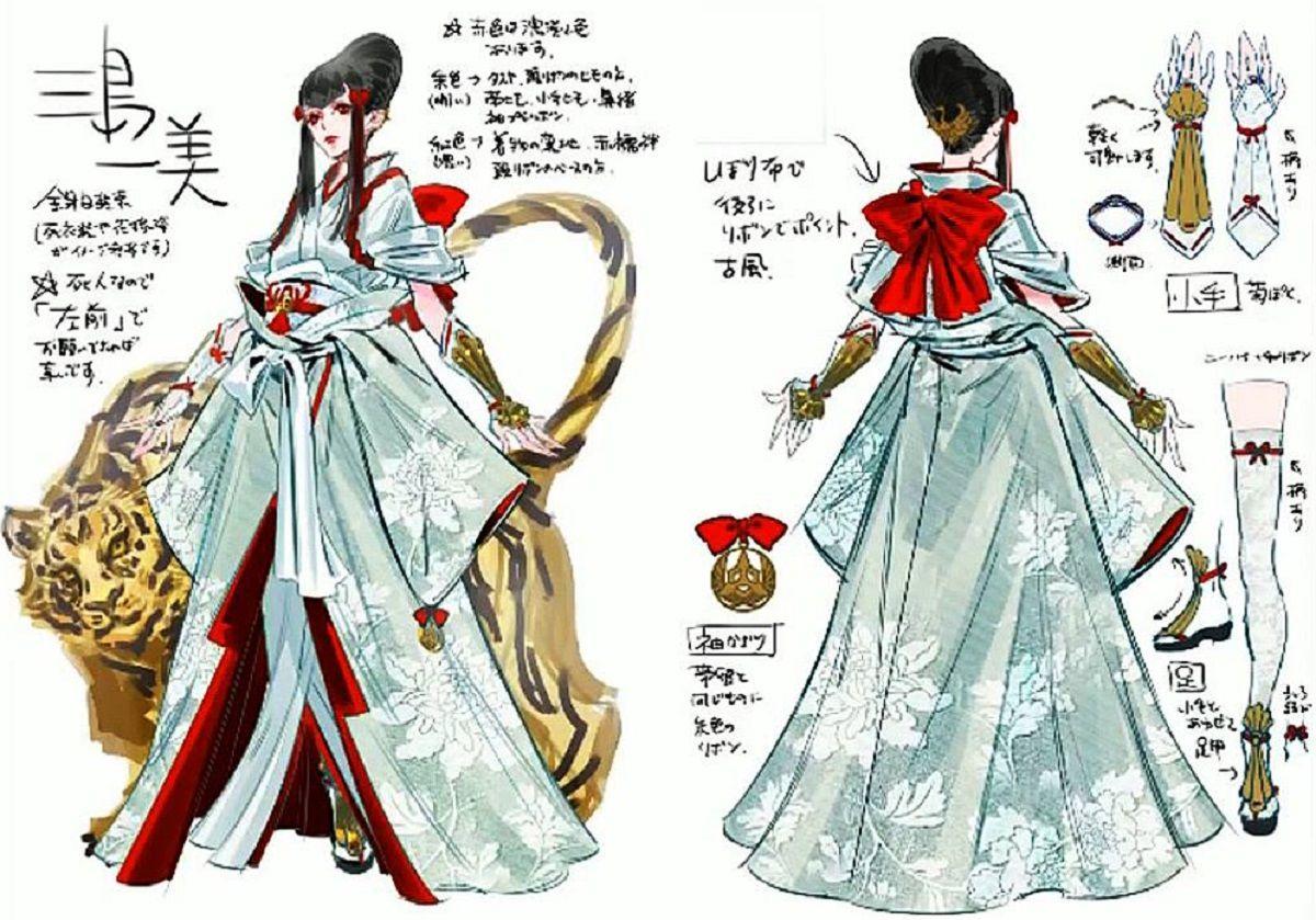 Tekken 7 Characters List Kazumi Mishima Tekken 7 Japanese Fashion