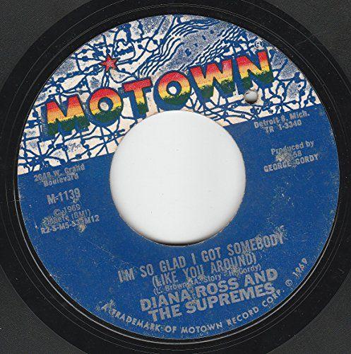 "45vinylrecord I'm Livin In Shame/I'm So Glad I Got Somebody (Like You Around) (7""/45 rpm) MOTOWN http://www.amazon.com/dp/B00Q76K0BA/ref=cm_sw_r_pi_dp_eUqCvb1GPD3A0"