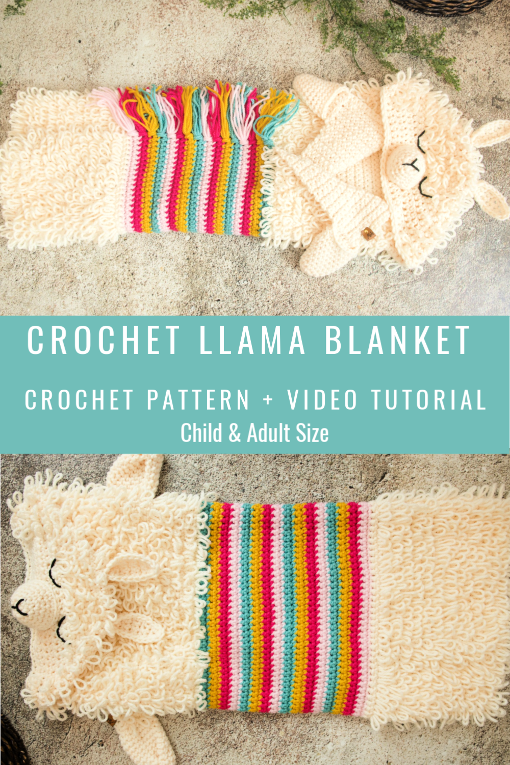 Alpaca My Llama Blanket Crochet Pattern Mj S Off The Hook Designs In 2020 Crochet Blanket Patterns Crochet Blanket Designs Crochet Patterns
