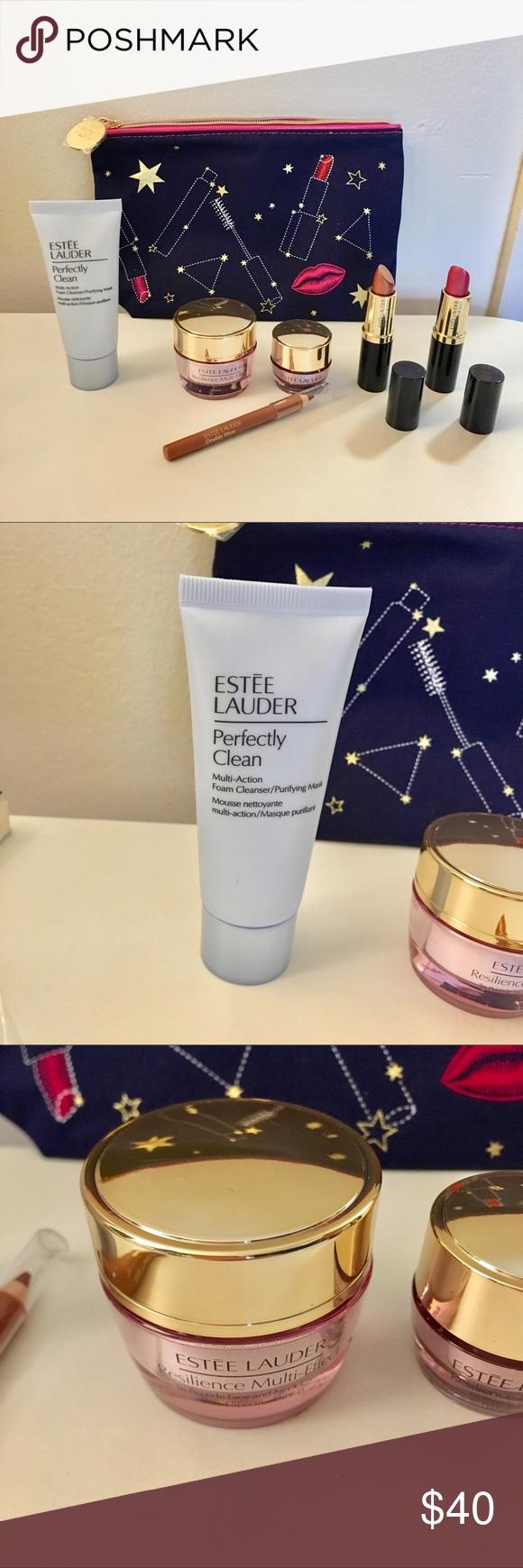 Estée Lauder Skincare and Makeup Travel Set NWT in 2020