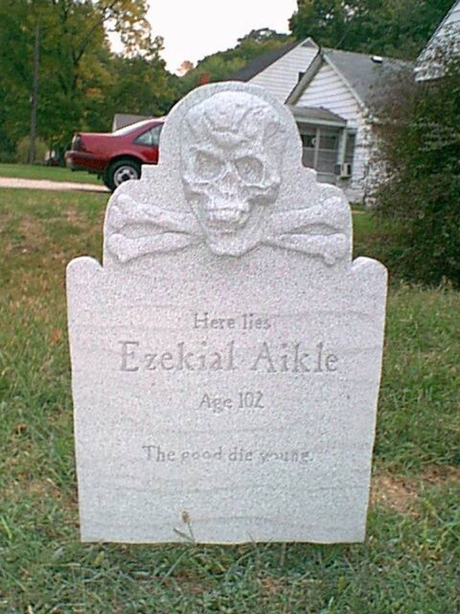 pinned from pin it for iphone | humor ~ funny tombstones, epitaphs
