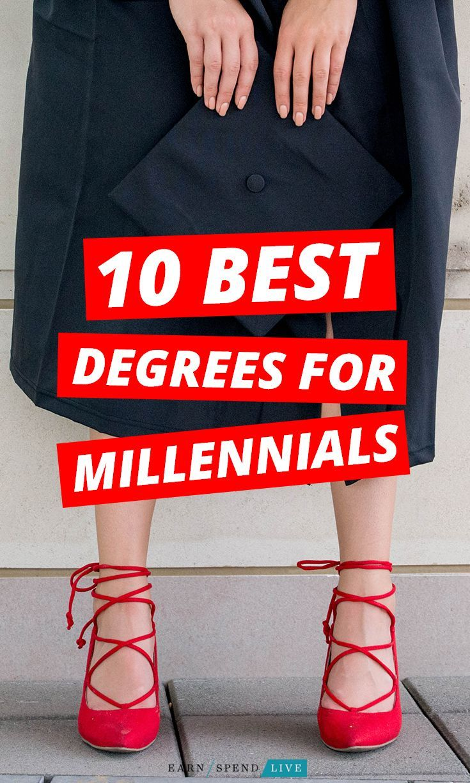 10 best degrees for millennials best degrees to get a job