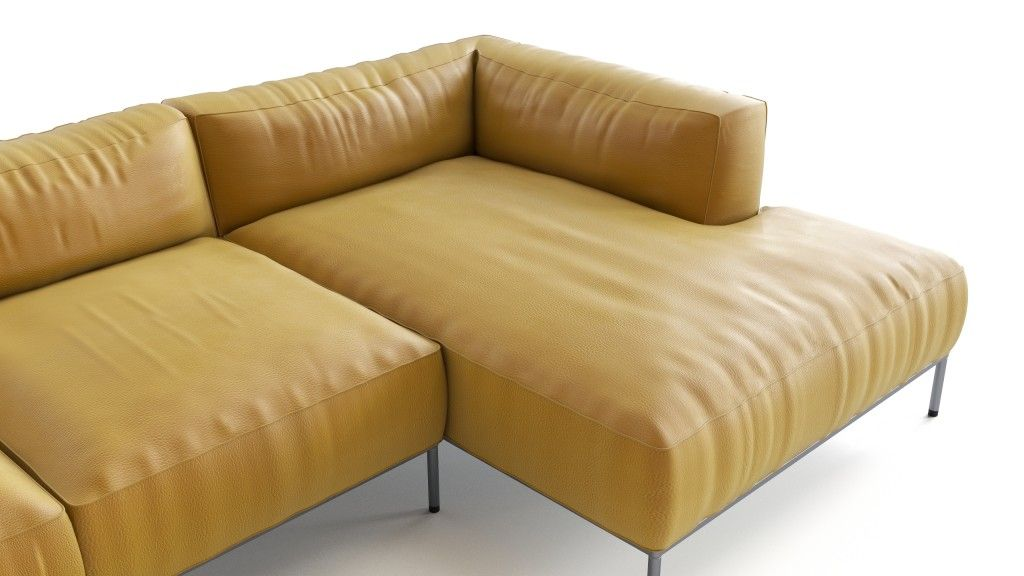 Yellow Leather Sofa Flyingarchitecture