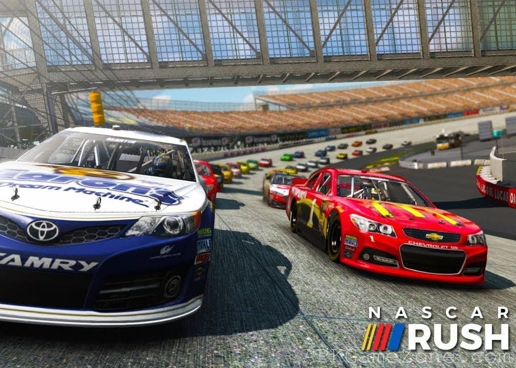 NASCAR Rush Money Mod Download APK Nascar, Best mods