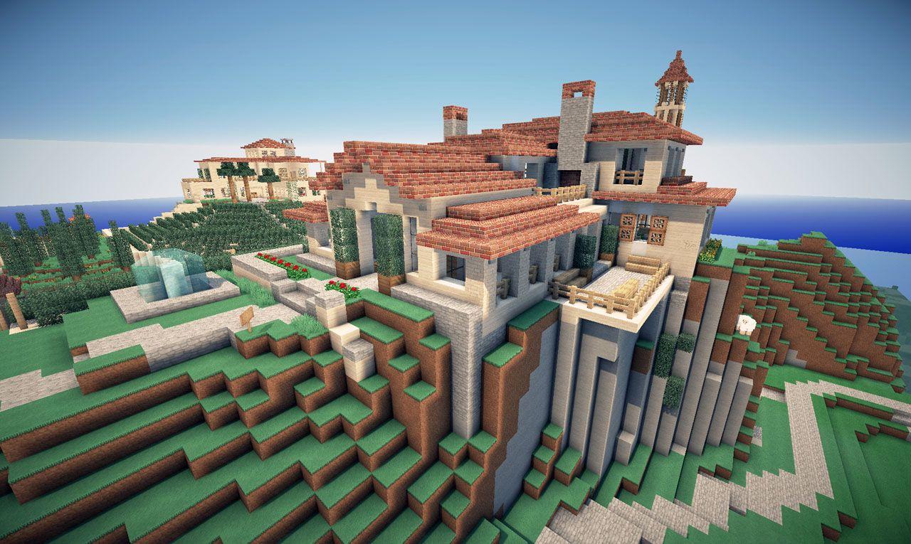 """Über 1.000 Ideen zu """"Minecraft Villa auf Pinterest"""" Villa"""