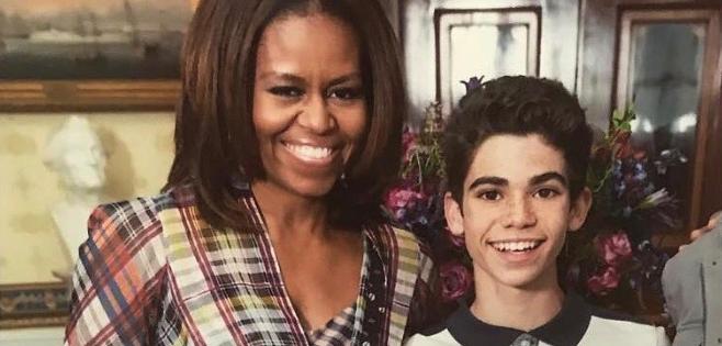 Mort de Cameron Boyce Michelle Obama rend un hommage