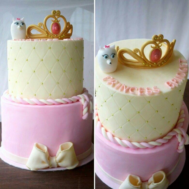 The Secret Life Of Pets Fondant Cake Gidget Fondant Princess