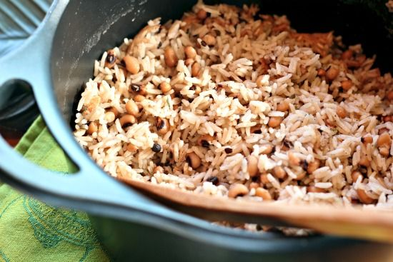Gluten Free Lite: Jamaican coconut Rice and peas