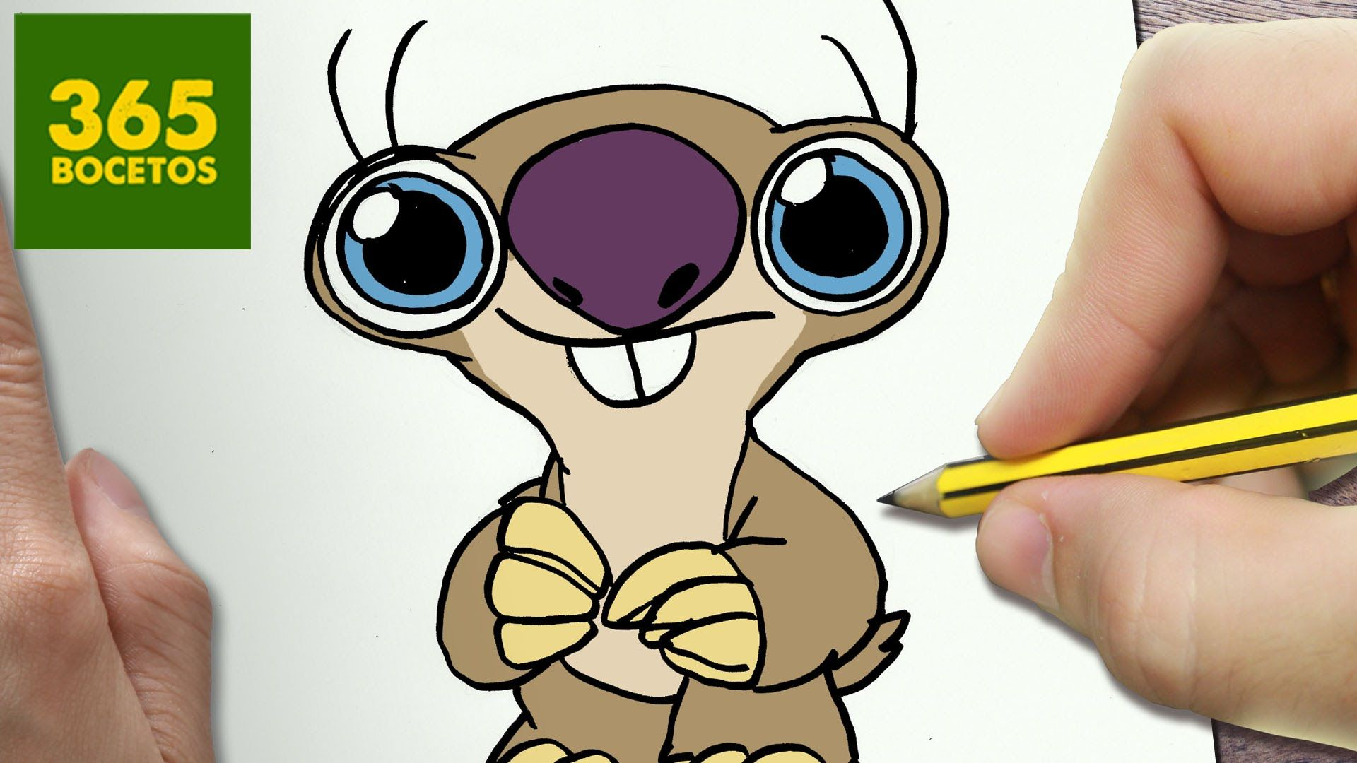 COMO DIBUJAR SID KAWAII PASO A PASO - Dibujos kawaii faciles - How to dr...