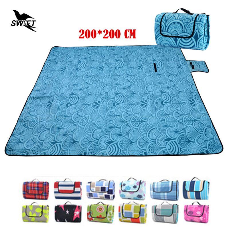 200*200cm Thicken Waterproof Moistureproof Folding Camping