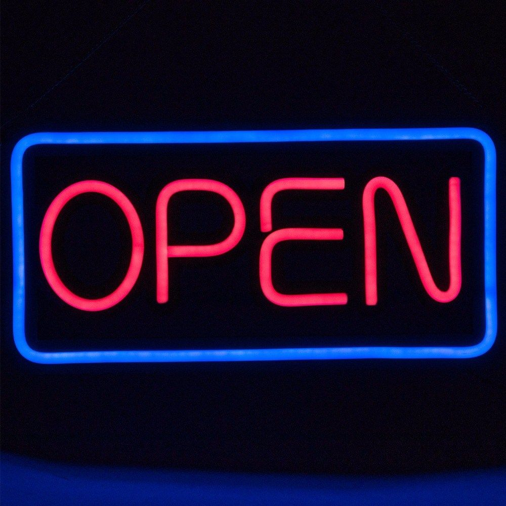 OPEN Display Cafe Business  LED Neon Light Sign home decor crafts