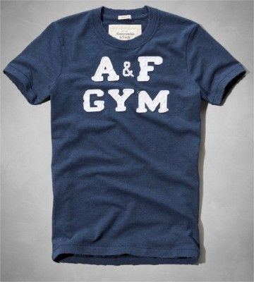 Camiseta Abercrombie Men s Moody Pond Tee Navy  Camiseta  Abercrombie 881402c5be3e5