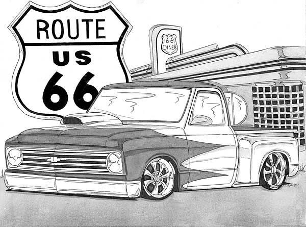 Rout 66 by Nathan Miller | Pages | Pinterest