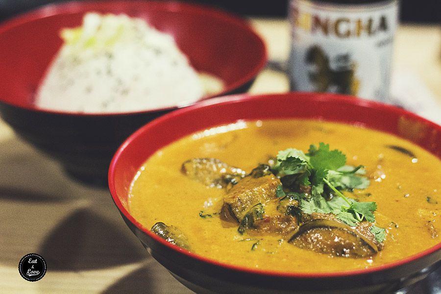 Gaeng peth - Tuk tuk street food restaurante asiático Madrid