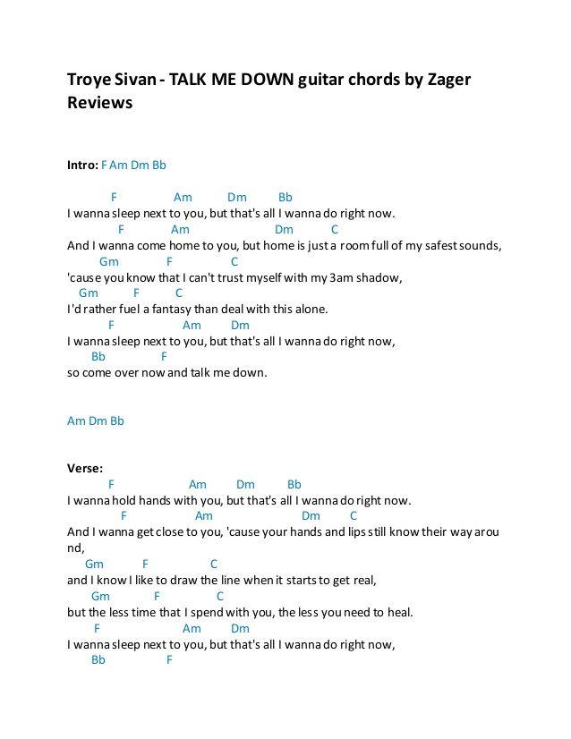 Lyric omi cheerleader lyrics : troye-sivan-talk-me-down-guitar-chords-by-zager-reviews-1-638.jpg ...