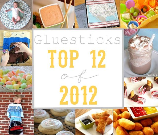 12 Amazing Recipes and Craft Projects from the Gluesticks Blog