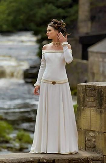 Celtic Wedding Dresses Irish Wedding Dresses Scottish Wedding Dresses Medieval Wedding Dress