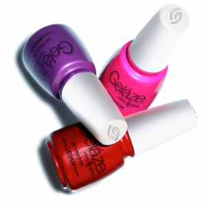 China Glaze Gelaze Gel Polish Is Here! Buy one get one free at Sally Beauty March 2014--click for link! I love China Glaze colors! So excited about this :)))) #chinaglaze #gelaze #gelpolish