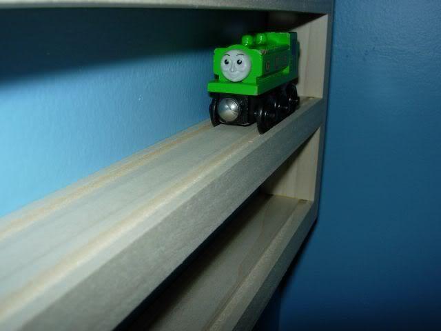 2 Chuggington Thomas Storage Display Rack Wooden Train Accessory ...
