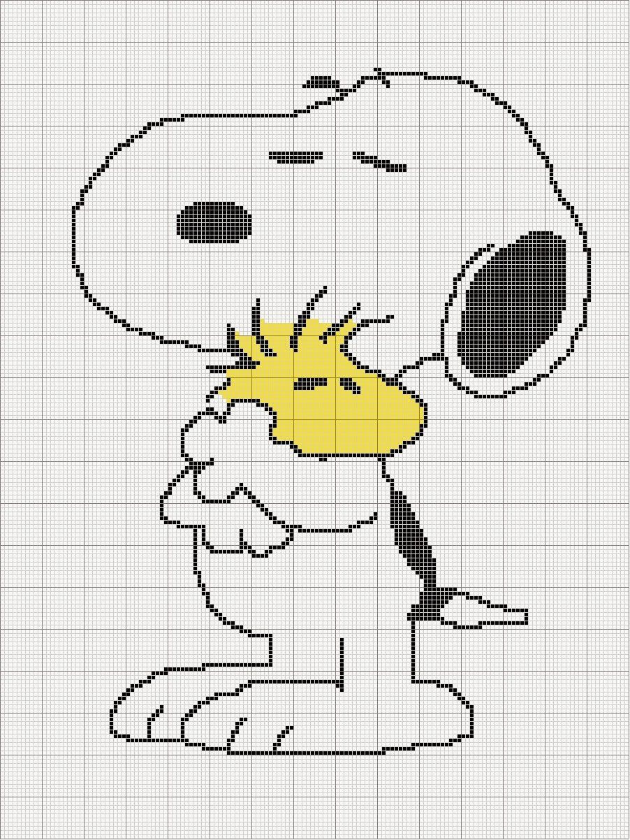 Photo of Free Snoopy graph