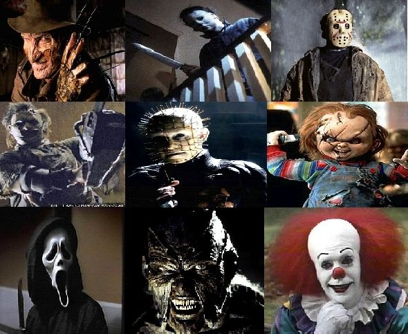 I just love horror movies, although the clown really sorta creeps me out!