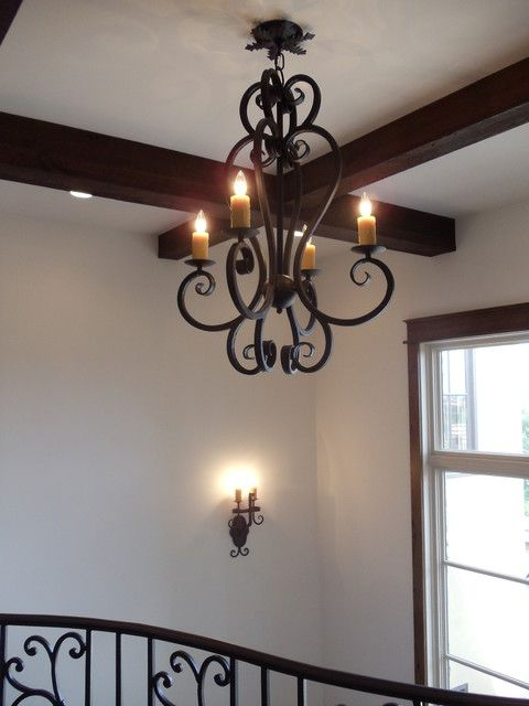 Wrought Iron Sconces Spanish Lighting Custom Chandeliers