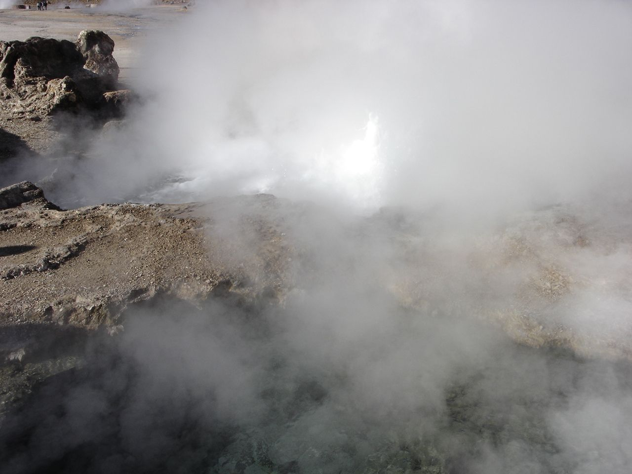 Chile, Geyser del Tatio