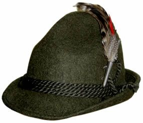 455e0588758ee6 i want a traditional german alpine hat Traditional German Clothing,  Traditional Outfits, Alpine Green