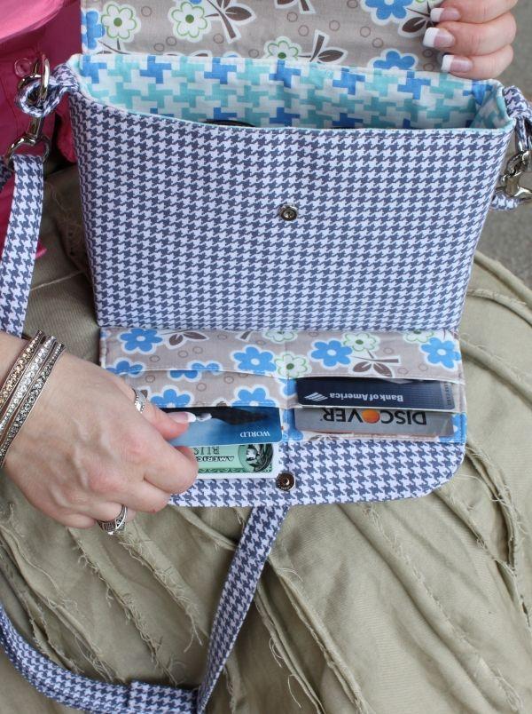 Madison Wallet Bag (Pattern) | Windeltasche, Nähen und Taschen nähen