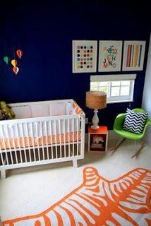 Bright Nursery Chambre Bebe Chambre Bebe Orange