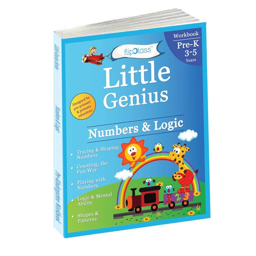 Numbers Amp Logic Pre Kindergarten Workbook Little Genius
