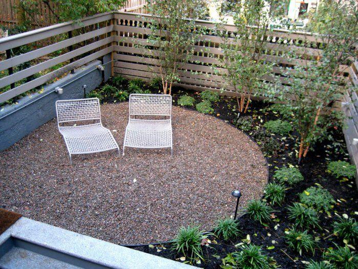 garten mit kies gartensessel gartenpflanzen garten gestalten Gartengestaltung u2013 Garten und  ~ 30013301_Garten Gestalten Mit Kleinem Pool