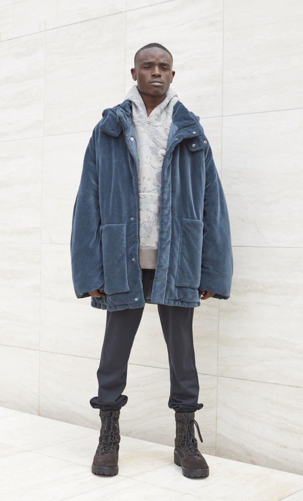 Season 4 Yeezy Kanye West Outfits Yeezy Fashion Womens Jackets Casual [ 2055 x 1242 Pixel ]