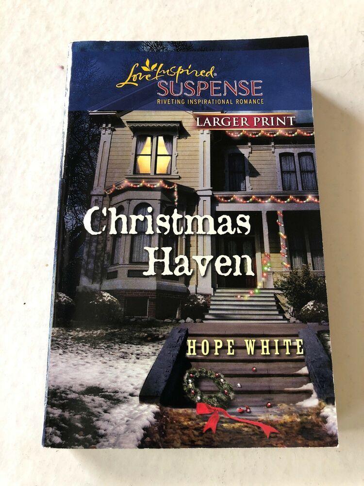 Christmas Haven (Love Inspired Suspense (Large Print