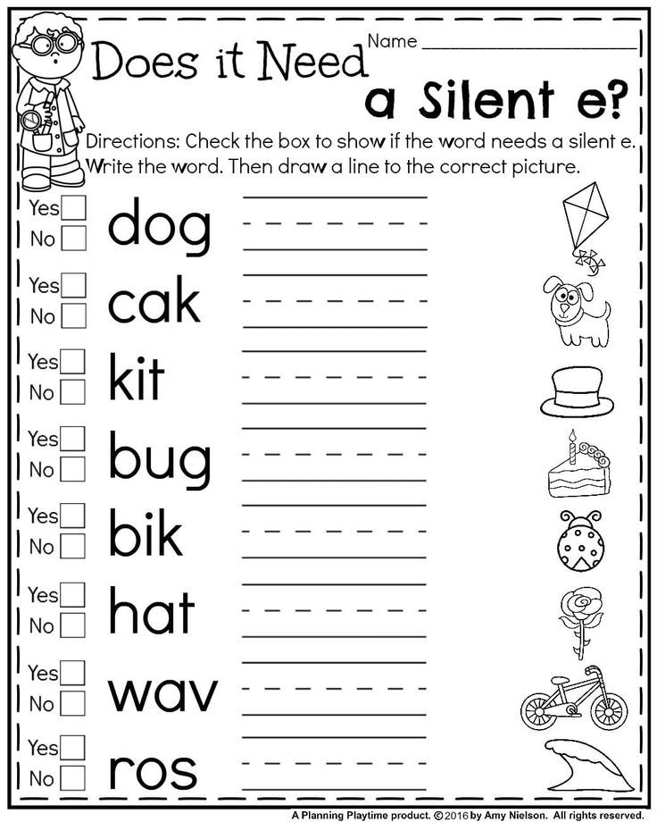 First Grade Summer Worksheets - Planning Playtime