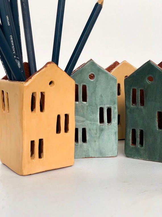 Office Storage-Candle Holder-Pencil Holder-Ceramic
