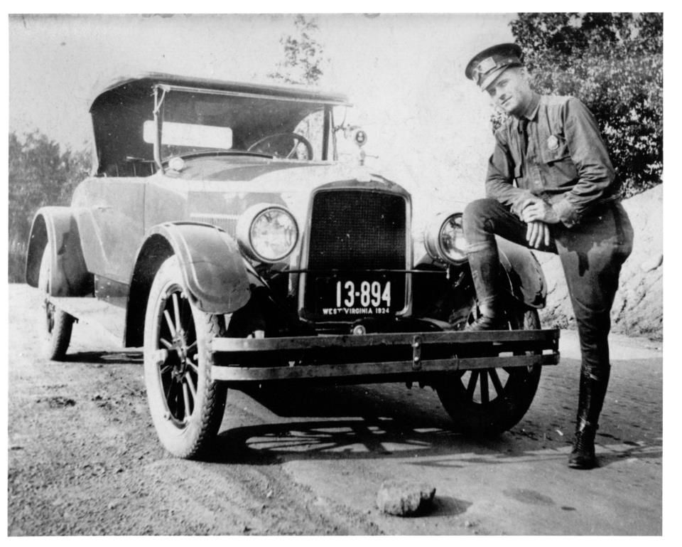 West Virginia State Police, 1934 West virginia history