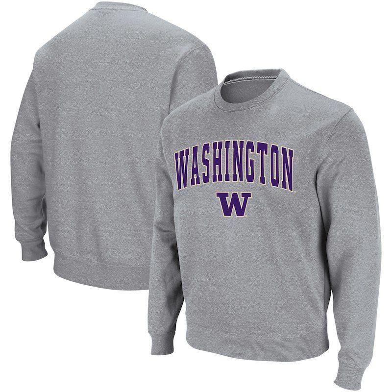 543f90aa3d Washington Huskies Colosseum Arch & Logo Crew Neck Sweatshirt ...