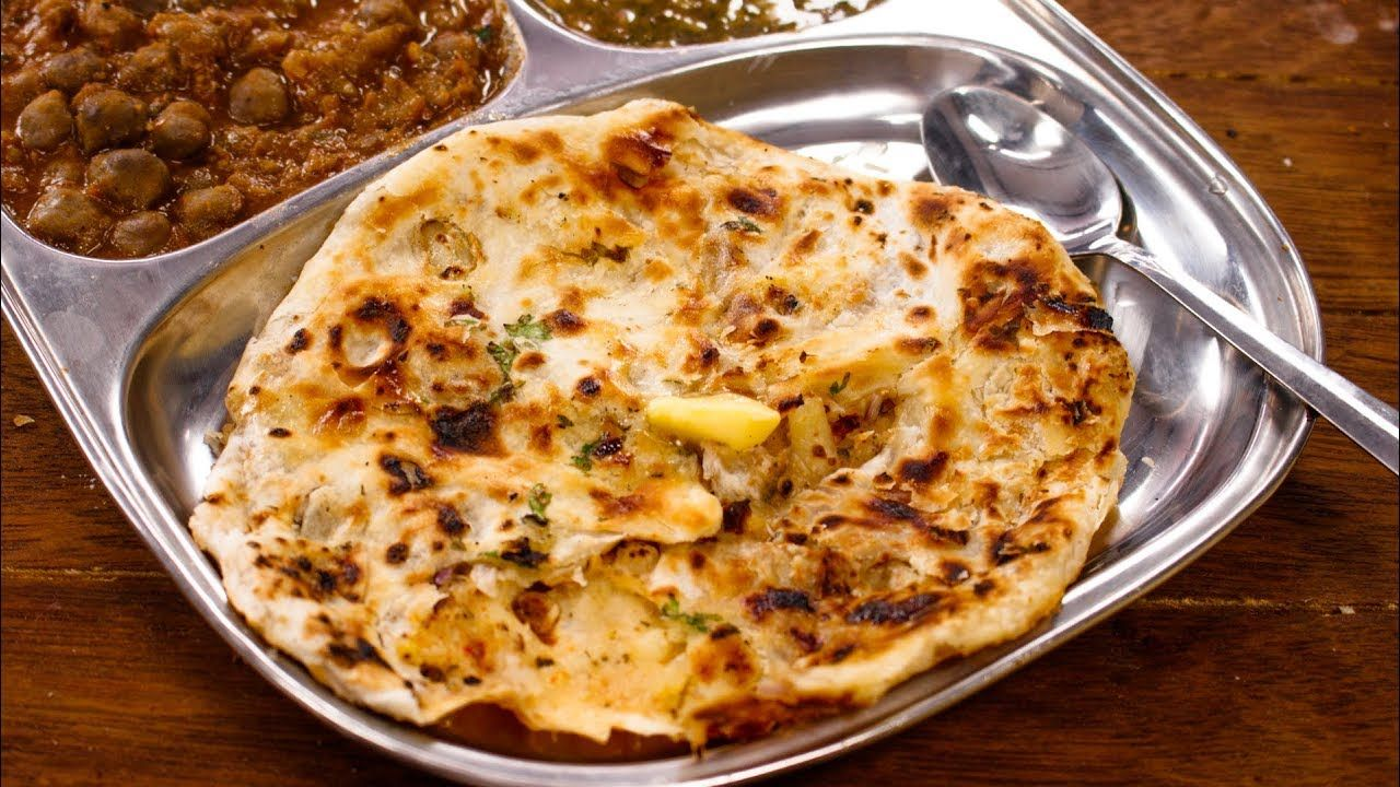 Amritsari kulcha recipe perfect crispy layered aloo naan in tawa in this video lets make perfect amritsari aloo kulcha recipe in a tawa this kulcha is pretty different from whats made across homes in india forumfinder Choice Image