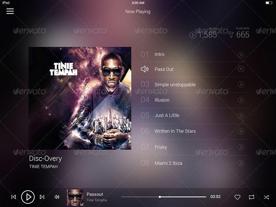 Music Player Ipad App #AD #Player, #Aff, #Music, #App, #Ipad