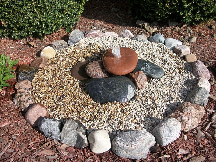 Bubbling Rock Water Feature Water Features Water Features In The Garden Pond Water Features