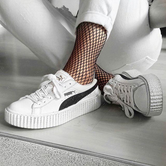 chaussure crepers puma enfant fille