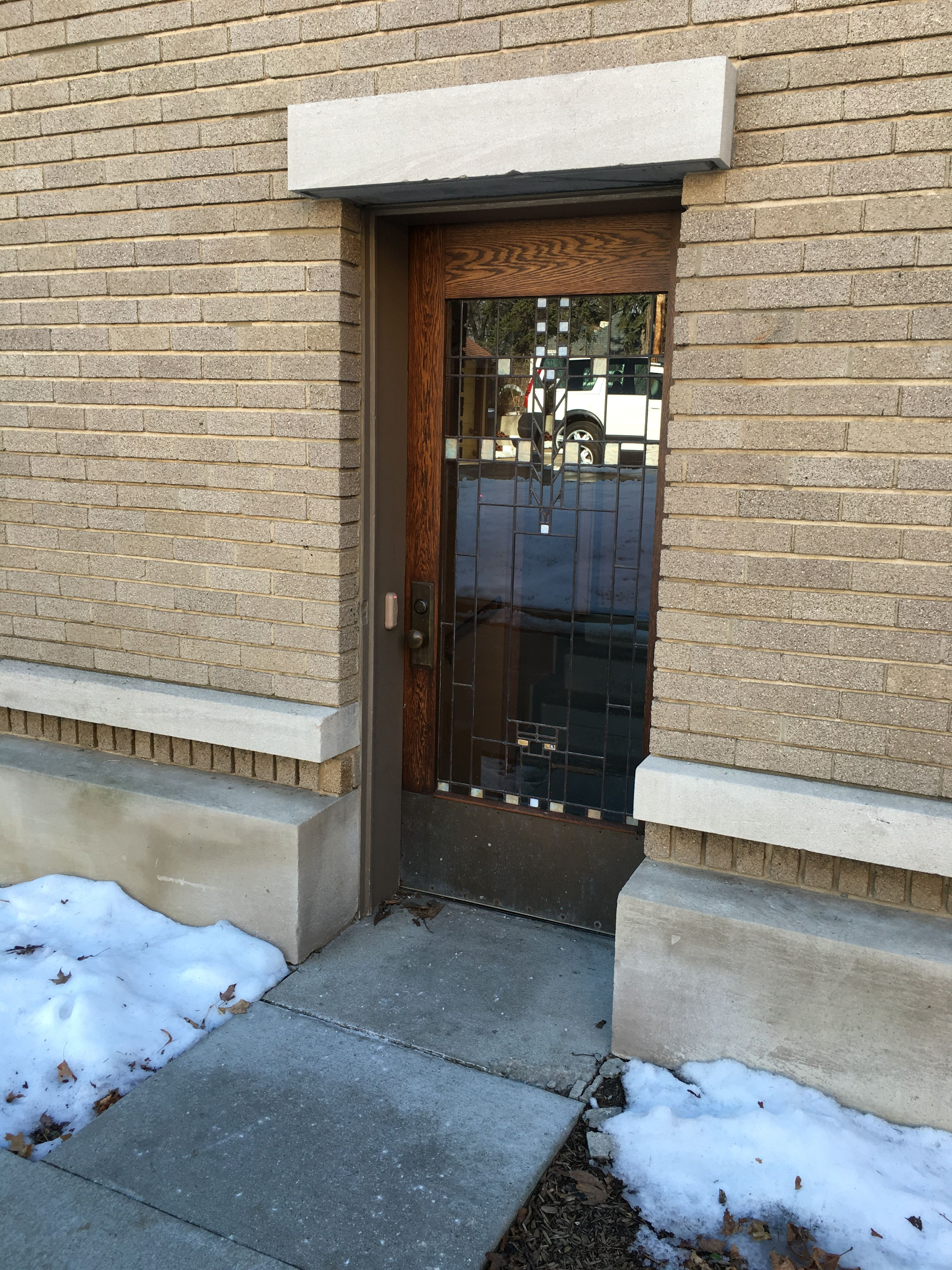 Meyer May House Heritage Hill Grand Rapids Mi Art Glass Side Door