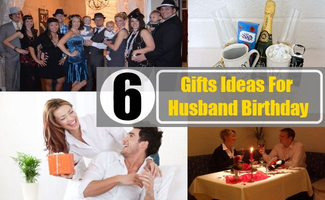 6 Unique Gifts Ideas For Husband Birthday