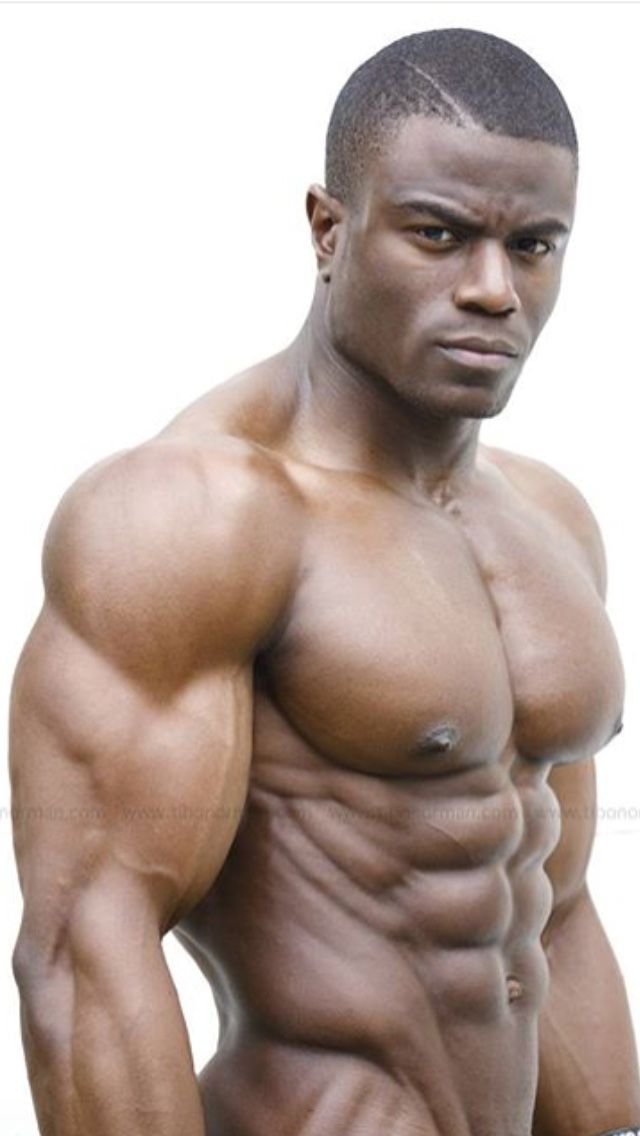 Gay black muscle porn