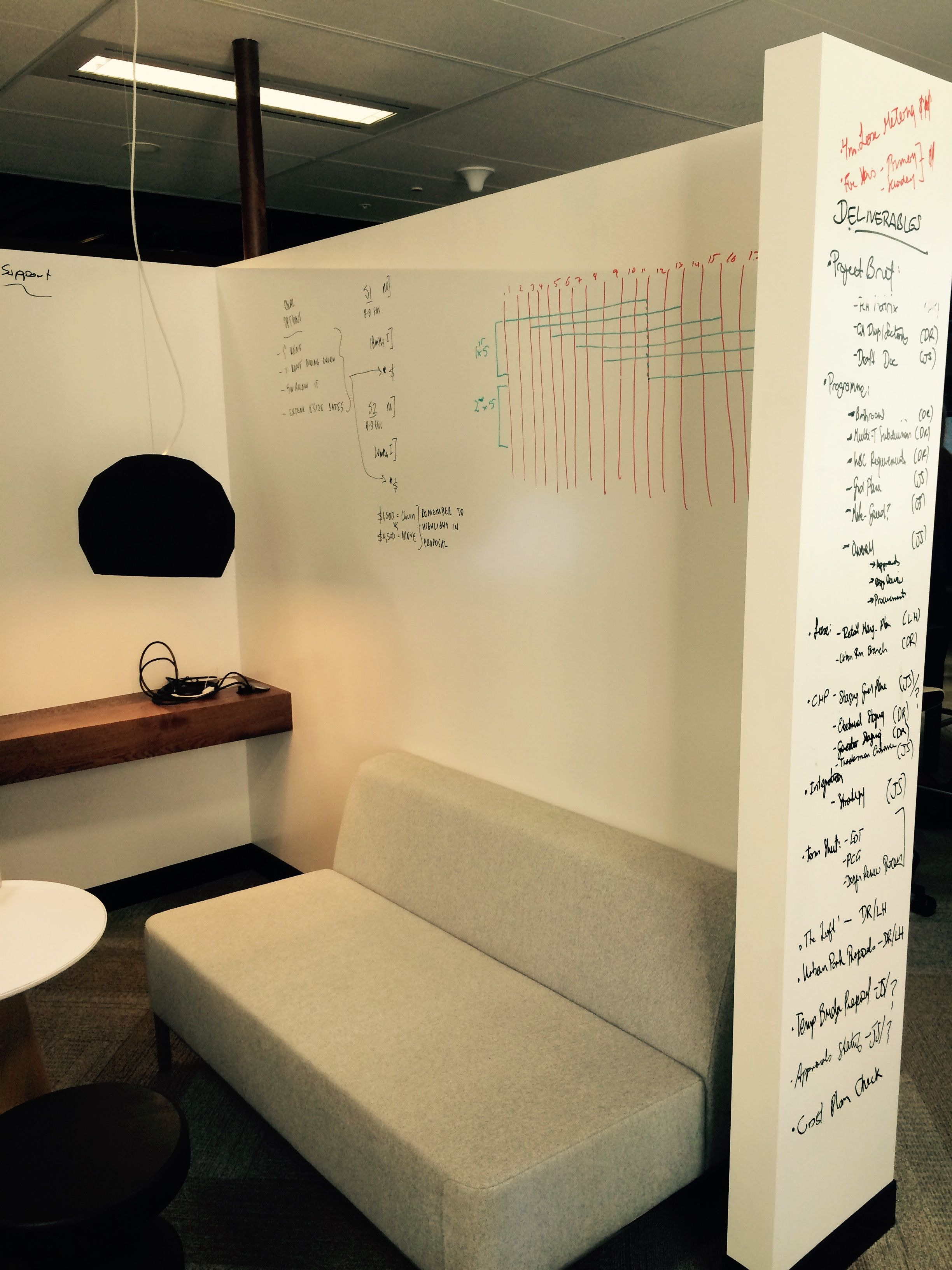 Agile wall - collaboration - quiet - write wall - ideas - technology ...
